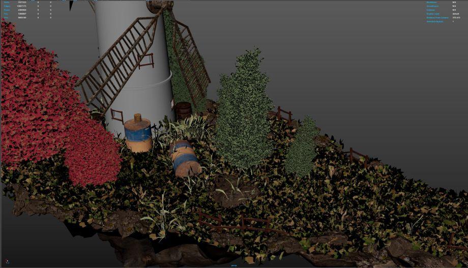 如何在Maya中制作小岛模型