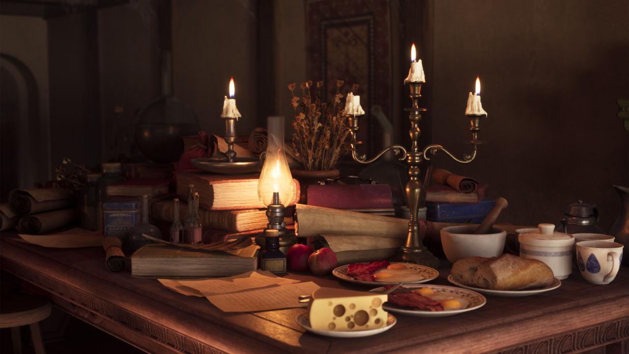 Recreating Howl's Moving Castle Interior in UE4