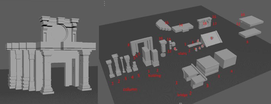 在UE4中制作模块化环境