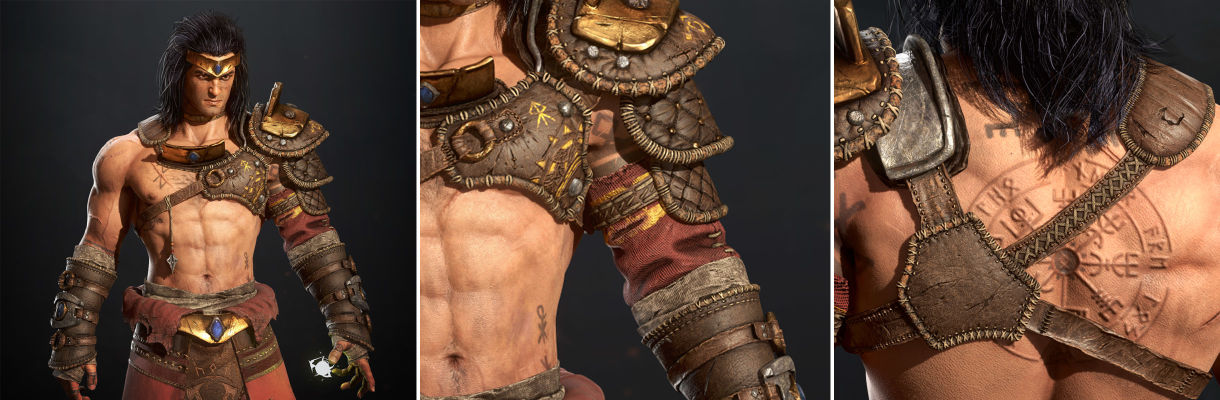 Viking Broly:3D角色分解