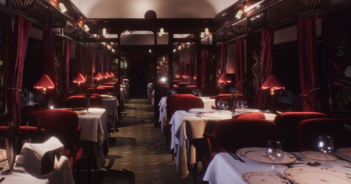 Modular Orient Express in UE4