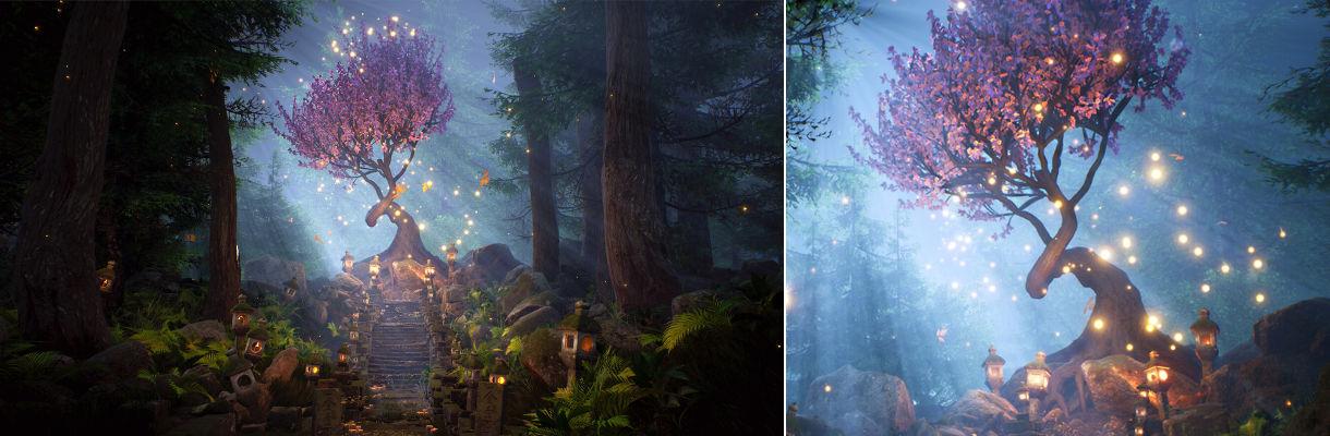 生命之樹:在UE4和SpeedTree中創建有機場景