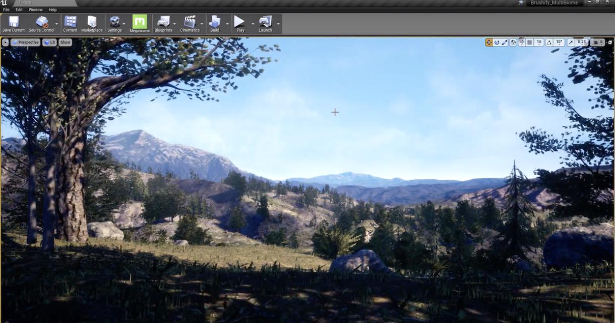 Tutorial: Using Procedural Foliage in Unreal Engine 4