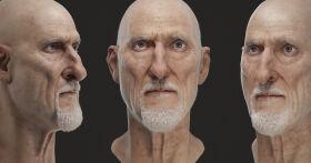 Realistic Facial Features in 3D Character Sculpts