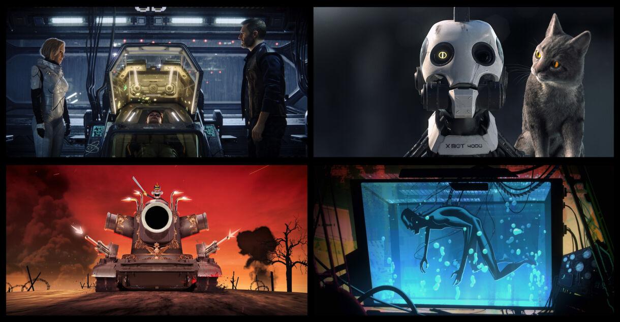 New Netflix Animated Series From David Fincher & Tim Miller