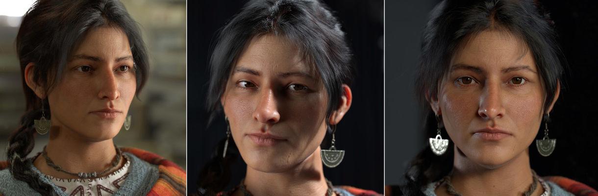 秘魯女子:創造逼真的角色藝術