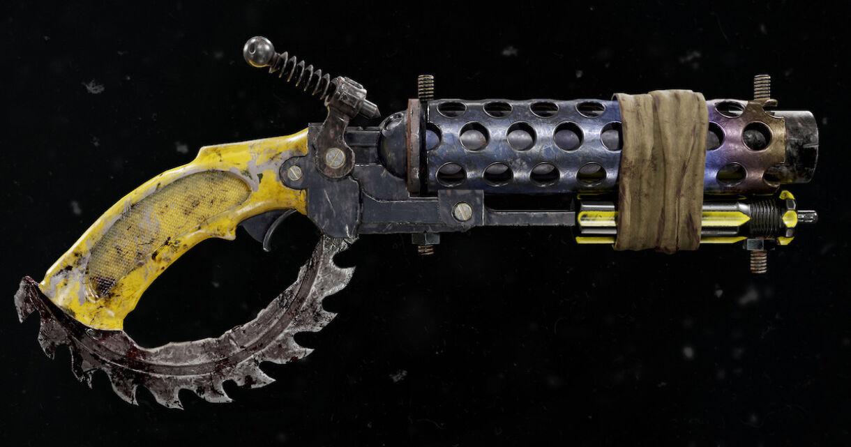 Breakdown: Sawed-Off Shotgun in Substance & Toolbag