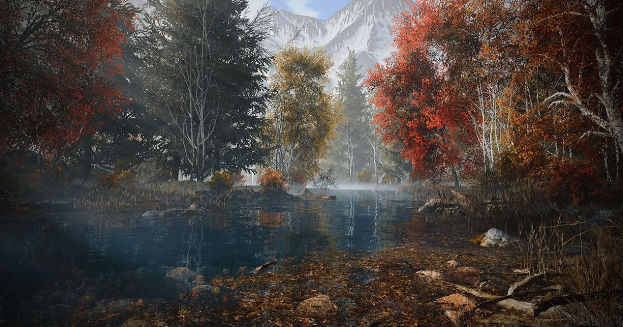 Natural Scenes with SpeedTree &Quixel Mixer
