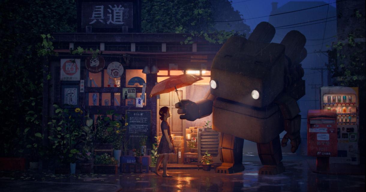Rainy Day: Open Scene Lighting & Wet Material