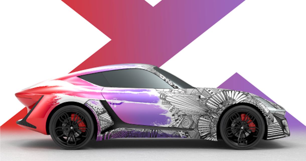 X-TAON: The Art Car Texturing Contest