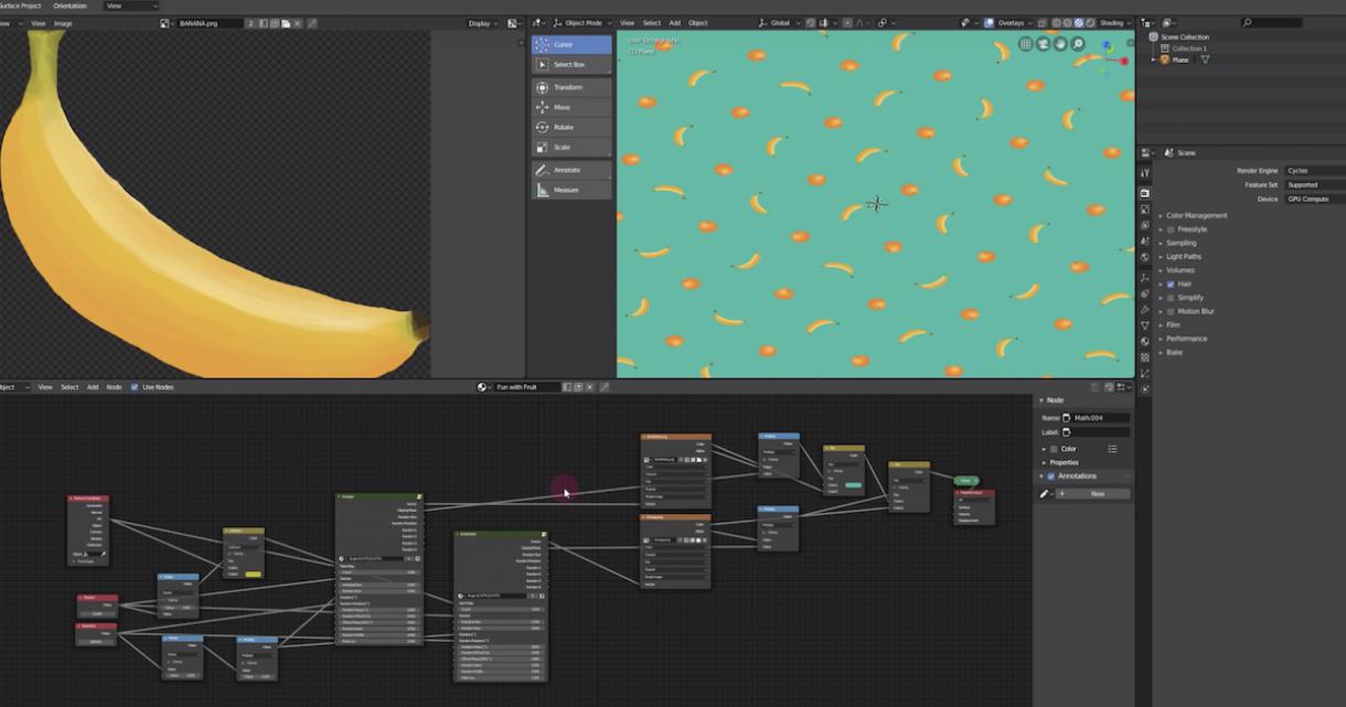 SCATTr: Procedural Texturing for Blender