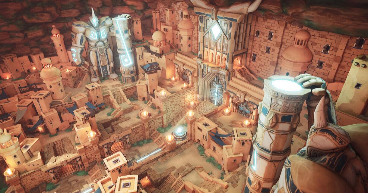 Building a Hidden City in UE4: Breakdown