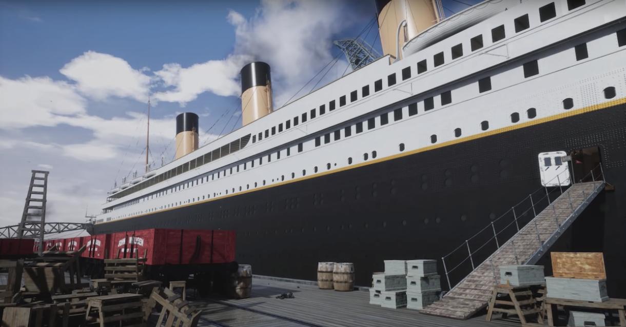 The Entire Titanic Recreated in UE4