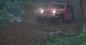 Simulating a Jeep Driving Through Mud