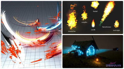 VFX and Shaders: Fire, Water and Lasers