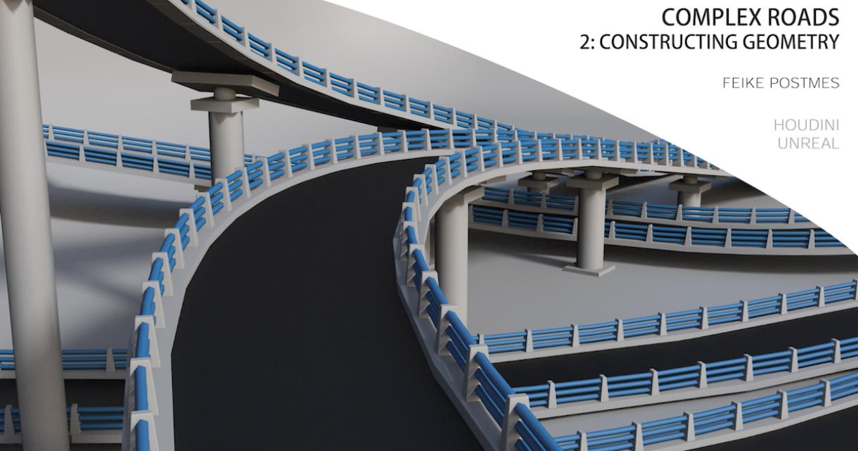 Complex Roads in Houdini: Constructing Geometry