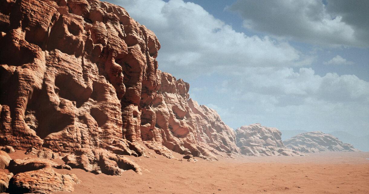 Customizable Desert Rock Material