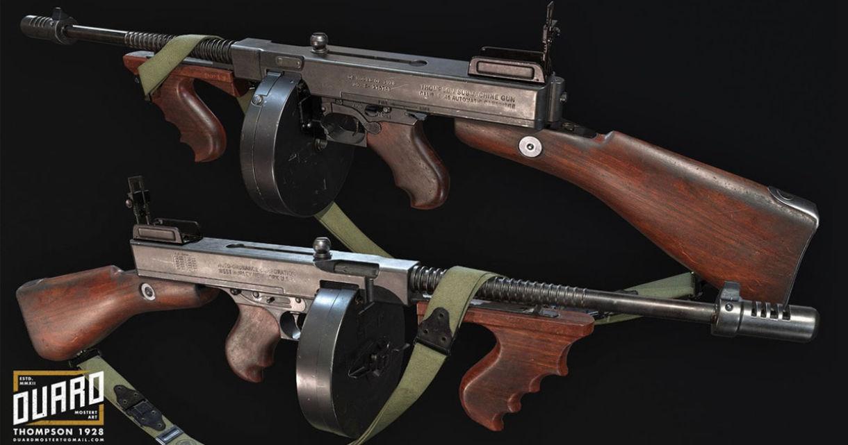 Tommy Gun Production: Weapon Breakdown