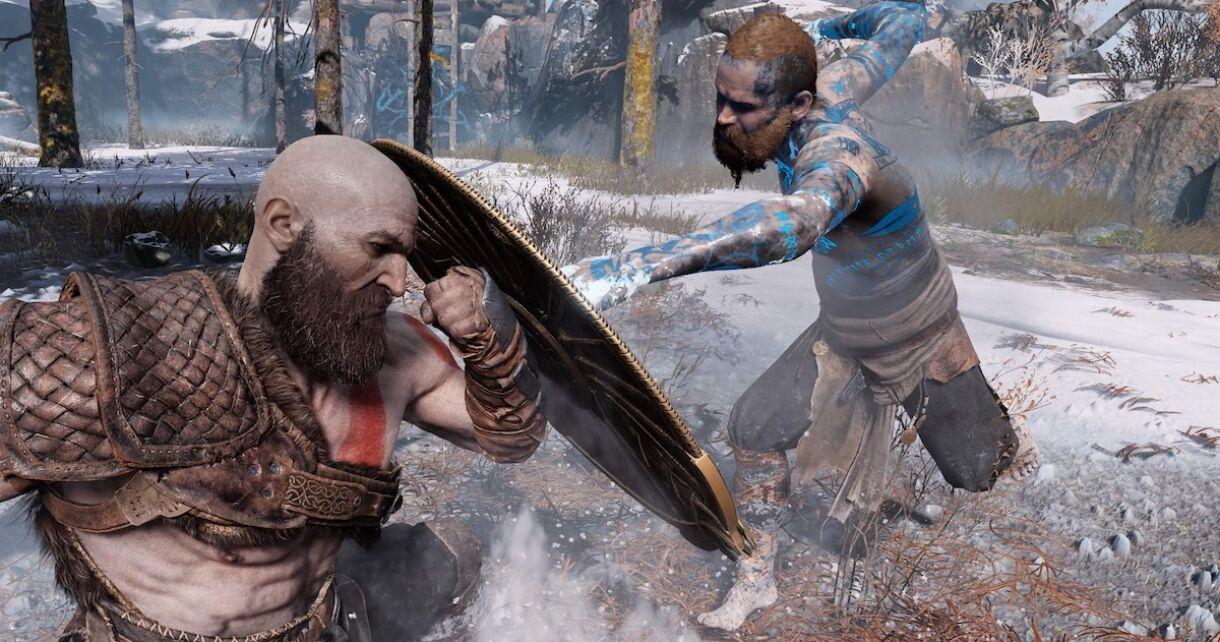 Behind the Scenes of God of War's First Baldur Fight