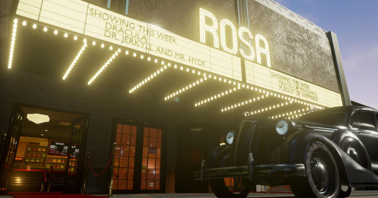 Making Art Deco Cinema Environment