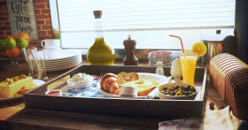 Preparing a Sunny Breakfast with V-Ray & Substance