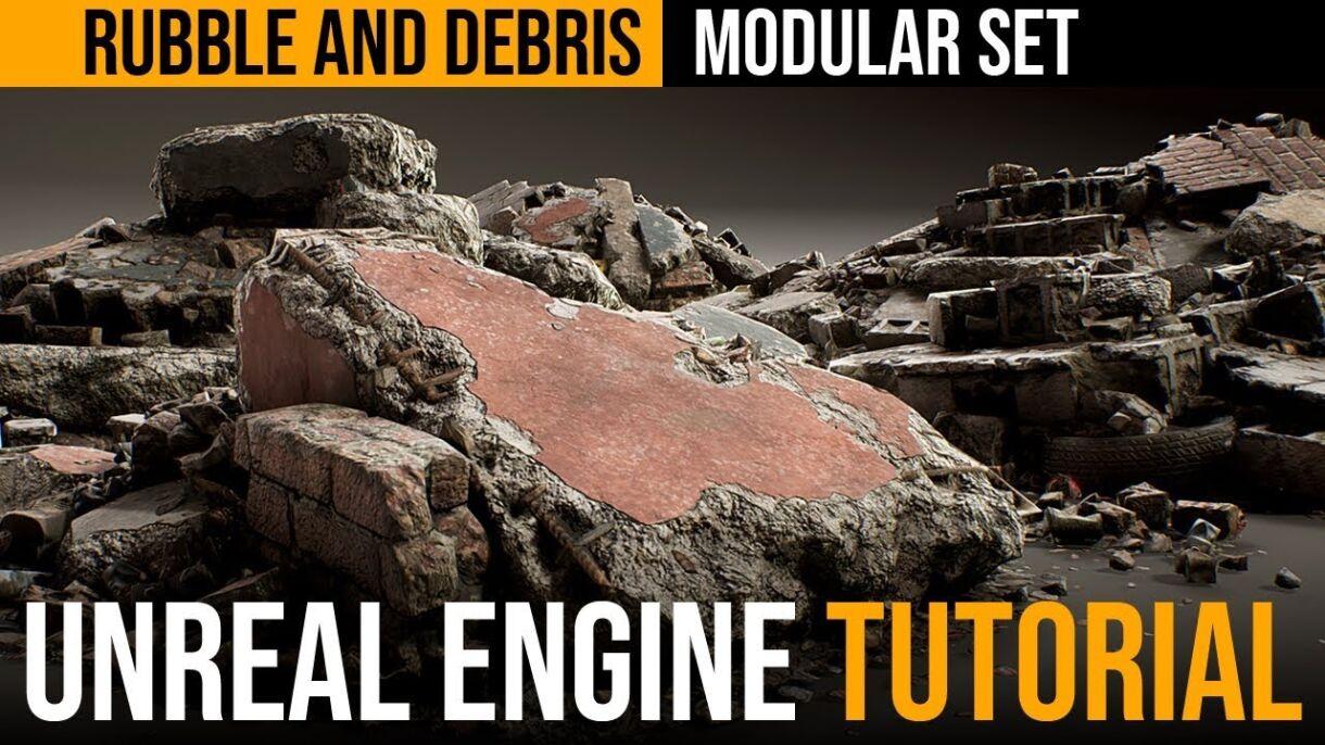 Rubble Modular Set Production