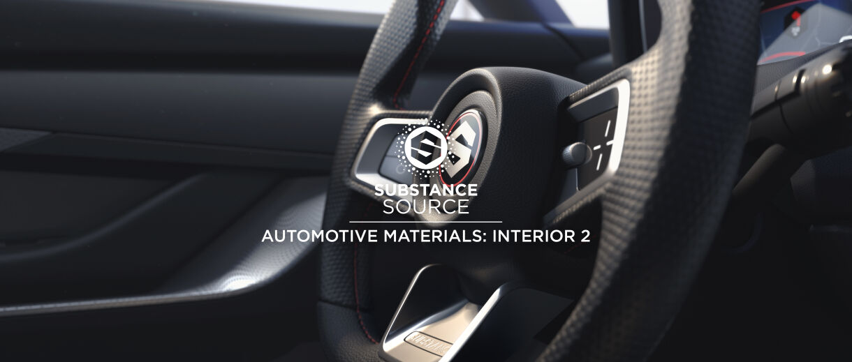 Most Realistic Interior Car Materials from Allegorithmic