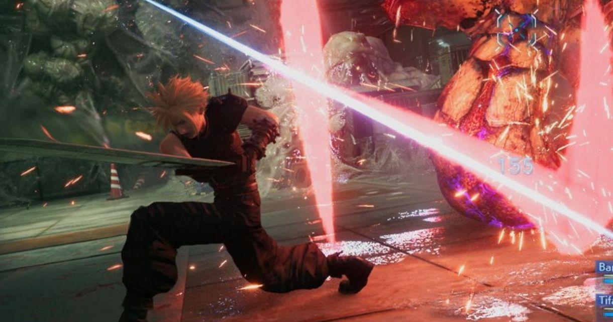 Final Fantasy VII Gameplay Shown