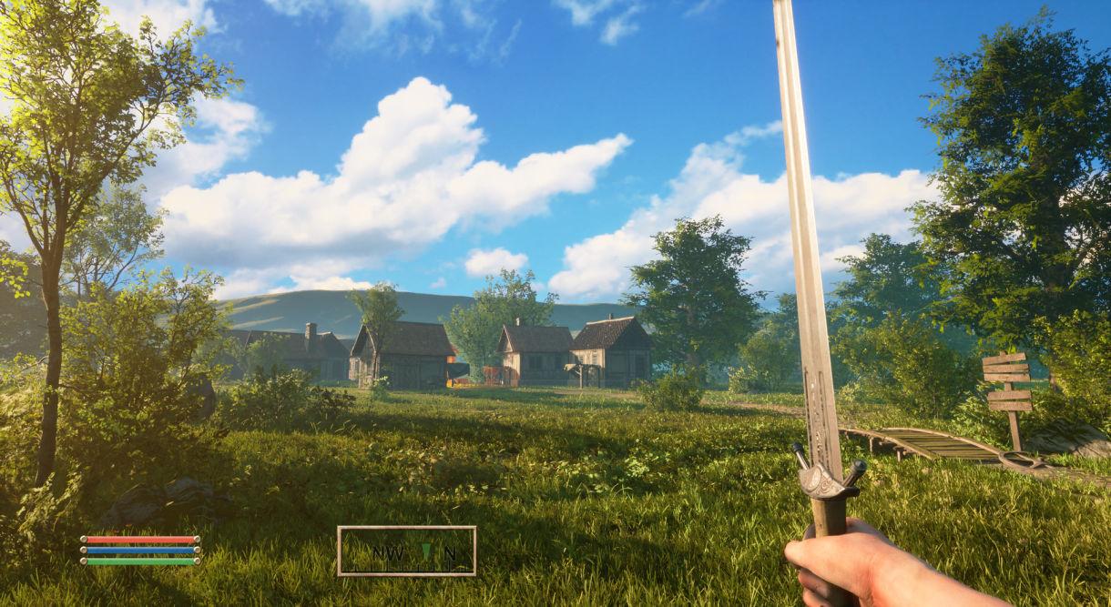 Building Oblivion Scene in Unreal Engine 4