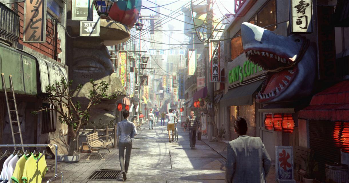 Building an Urban Scene with Maya
