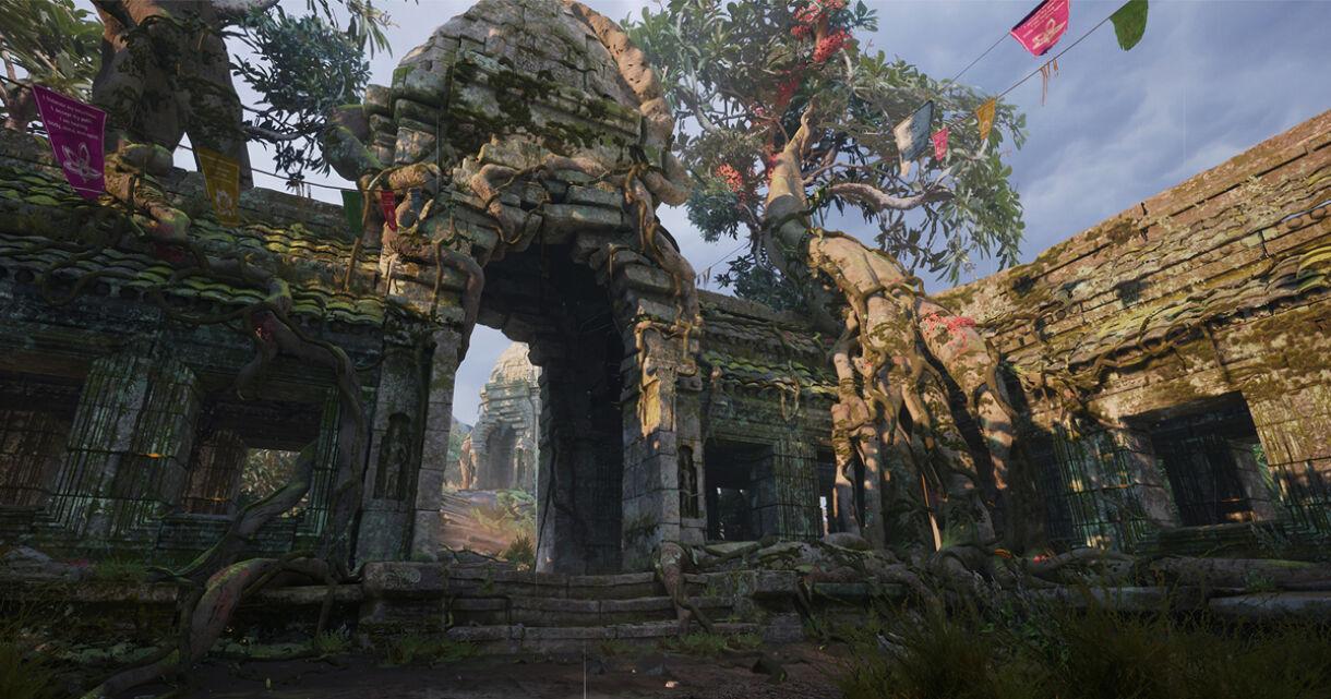 Creating Cambodian Temple in UE4