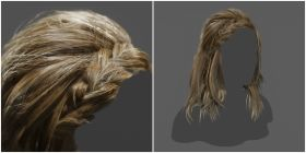 Creating Hair for Real-Time Projects