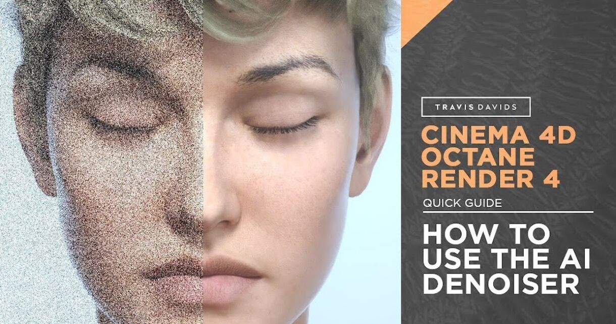 C4D & Octane Render: How To Use The AI Denoiser