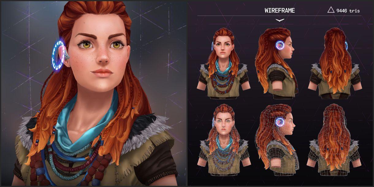 Stylizing 3D Character Content: Model, Texture, Details
