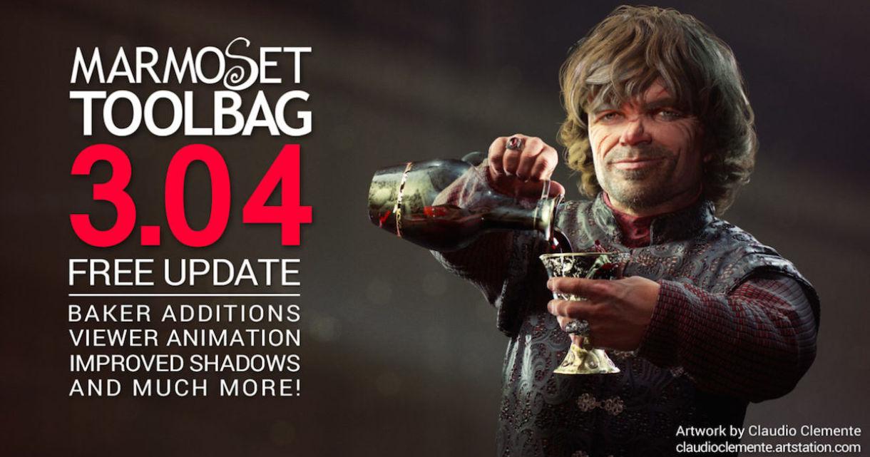 Marmoset Toolbag 3.04 Released