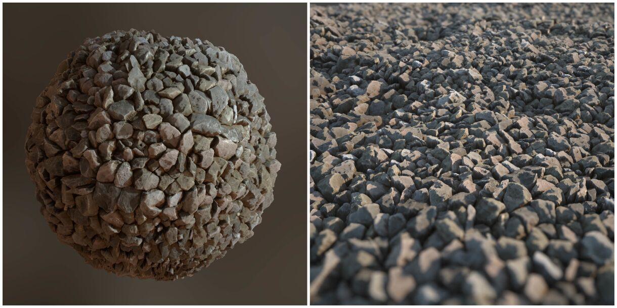 Graph: Sharp Rocks in Substance Designer
