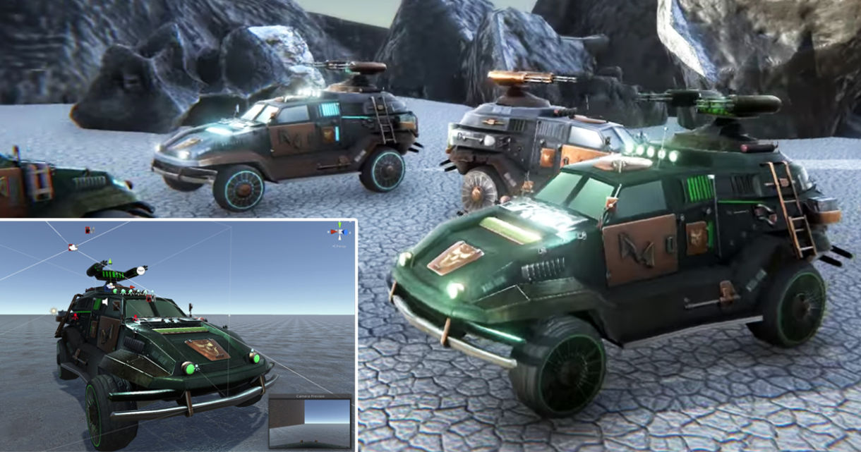 Modeling Vehicles & Using Them in Games