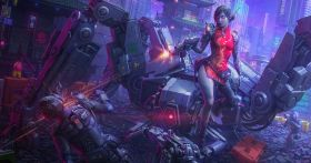 Tutorial: Illustrating an Appealing Cyberpunk Scene
