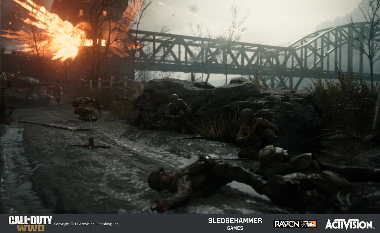 Designing Lighting for Call of Duty: World War II