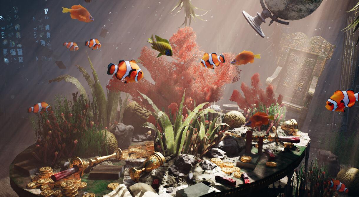 Beneath the Waves: Creating Underwater Scene in UE4