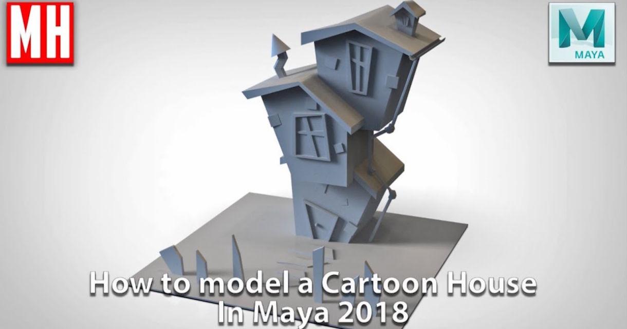 Tutorial: Modeling a Cartoony House in Maya