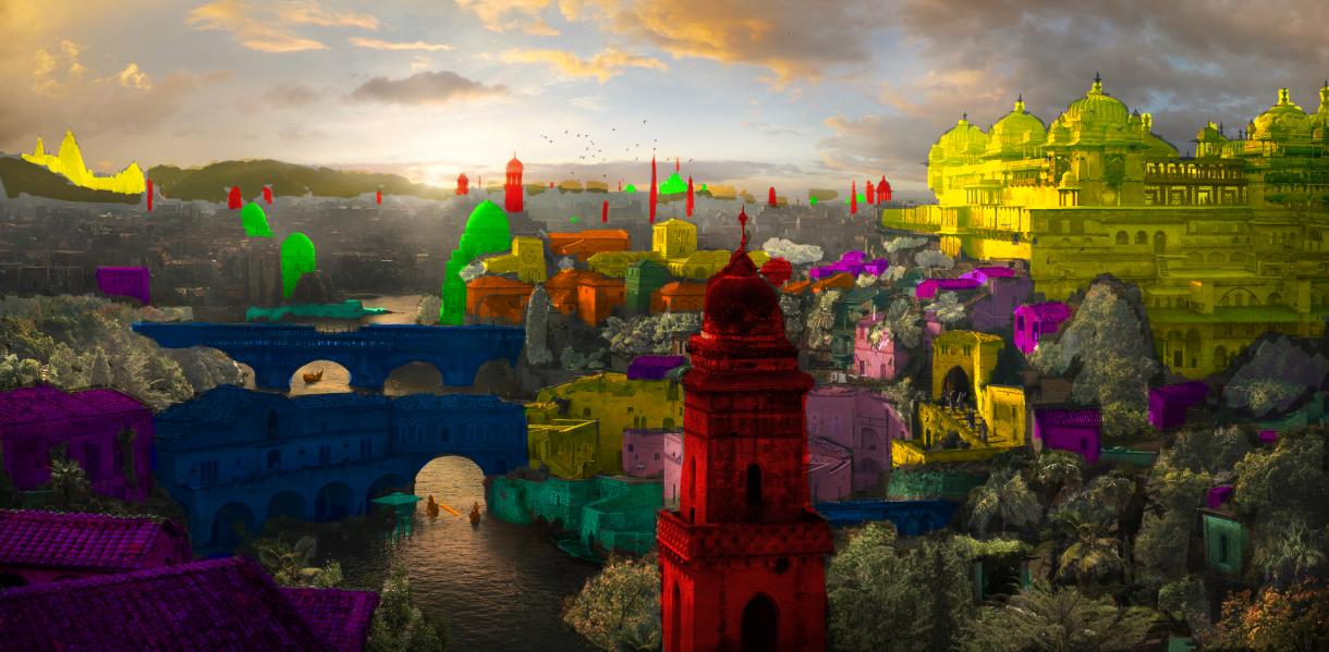 City of Thousand Temples: City Building Techniques
