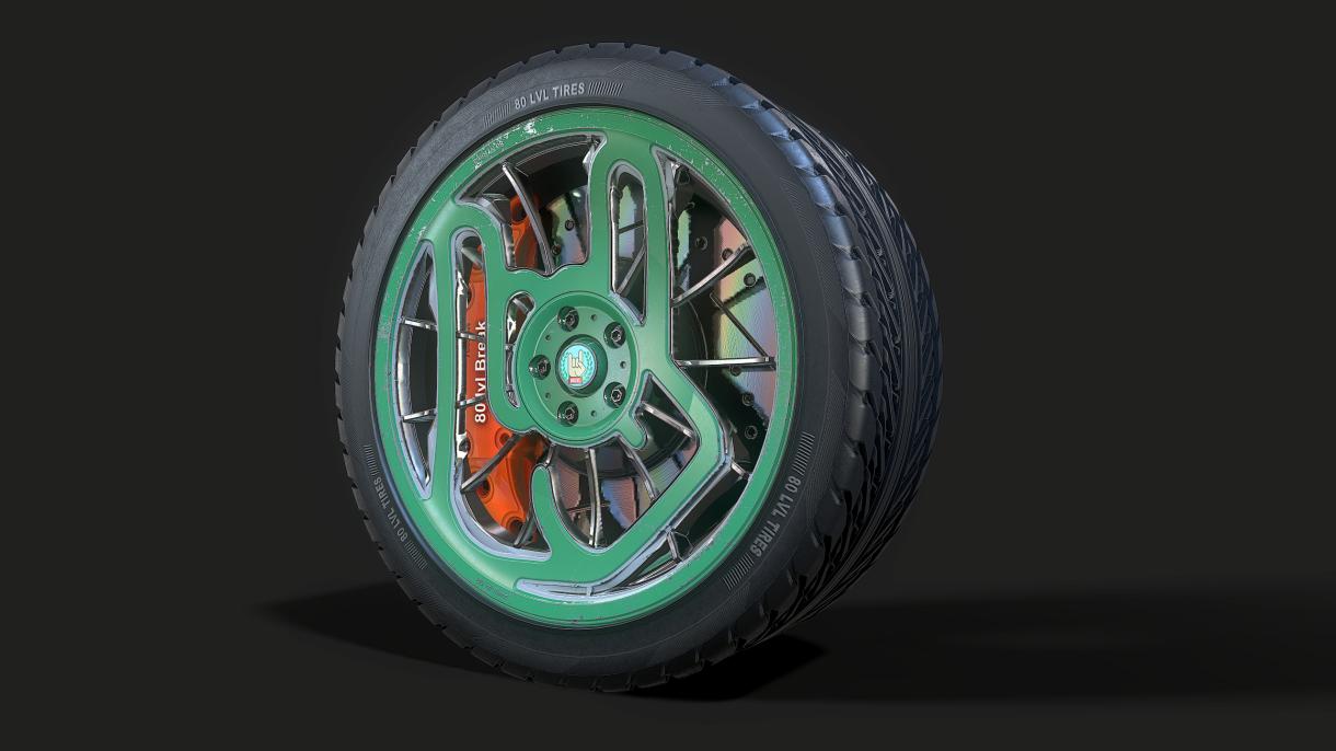 Break|Rim|Tire Generator: New Uses for SD