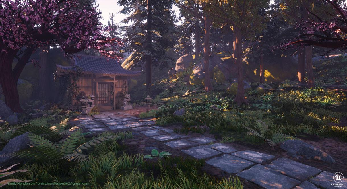 Hidden Shrine: Game Location Production