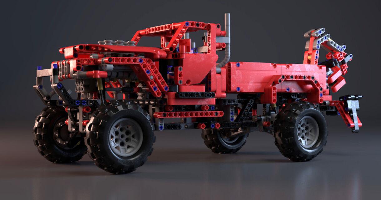 Lego Pickup Truck by Alwin Durez