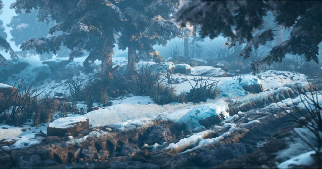 Creating Snowy Scenes with UE4 & Houdini