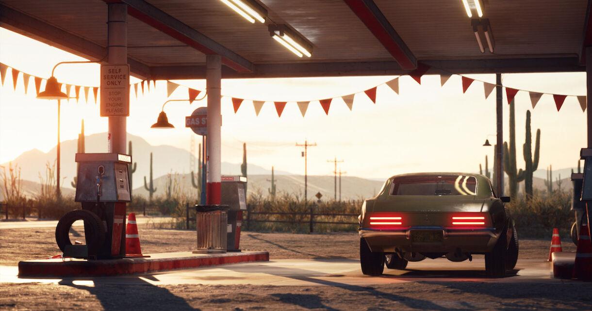 Joakim Stigsson Releases Desert Gas Station