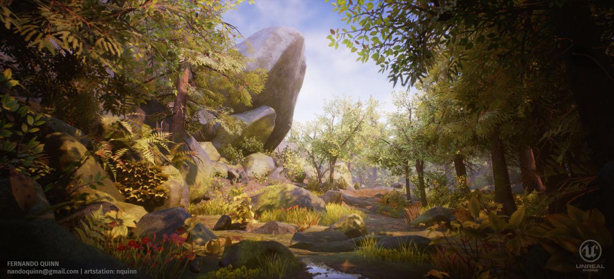 Creating Natural Landscapes for Games