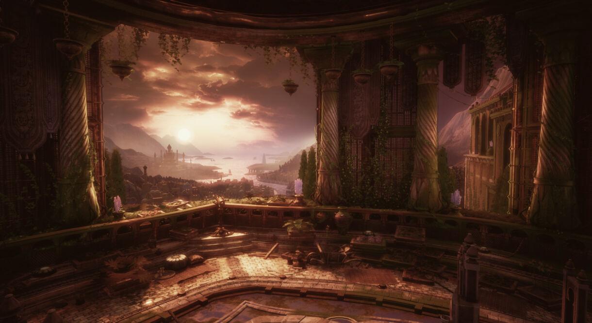 Fantasy Environment Production Techniques