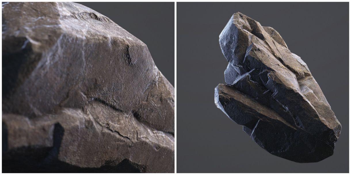 A Free Set Of Low Poly Rocks